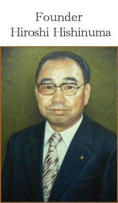 Founder Hiroshi Hishinuma